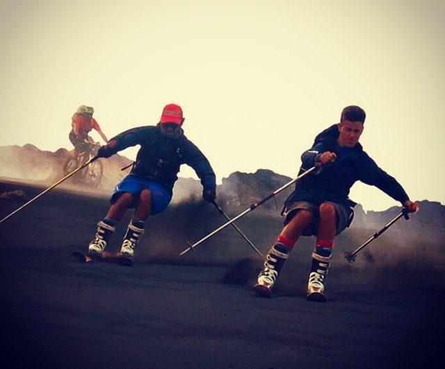 inizia lo sci estivo sull'Etna