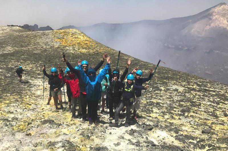 Volcanoes makes peoples happy