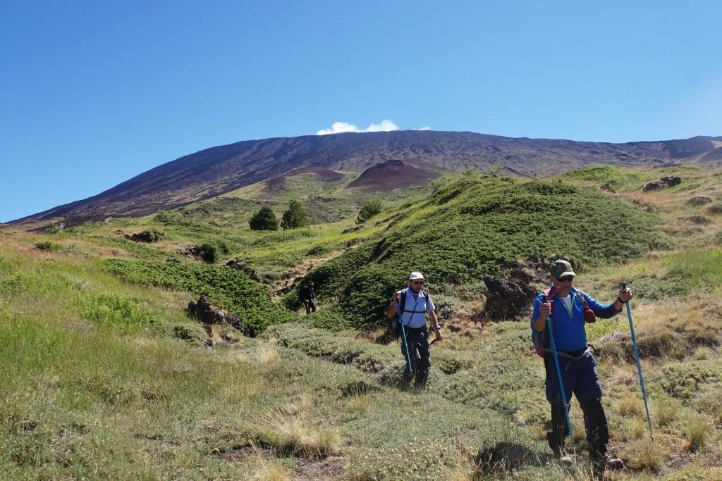 Ascesa sull'Etna