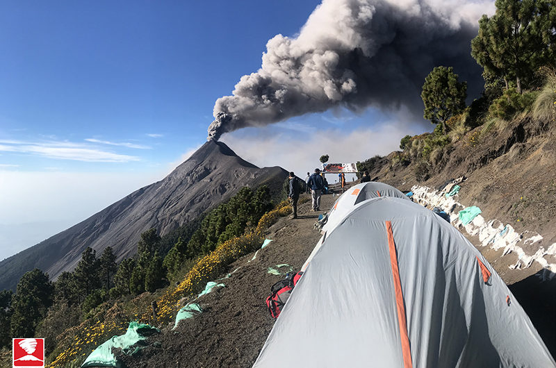 vulcani del Guatemala