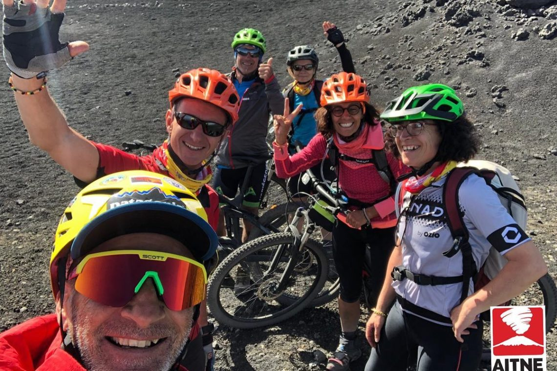 Summit Craters on e-bikes